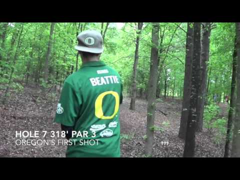 2015 National Collegiate Disc Golf Championship Round 4 - Oregon vs. Alabama; Moody Woods