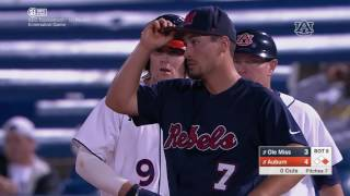 Auburn baseball defeats Ole Miss 5-4 in the SEC Tournament