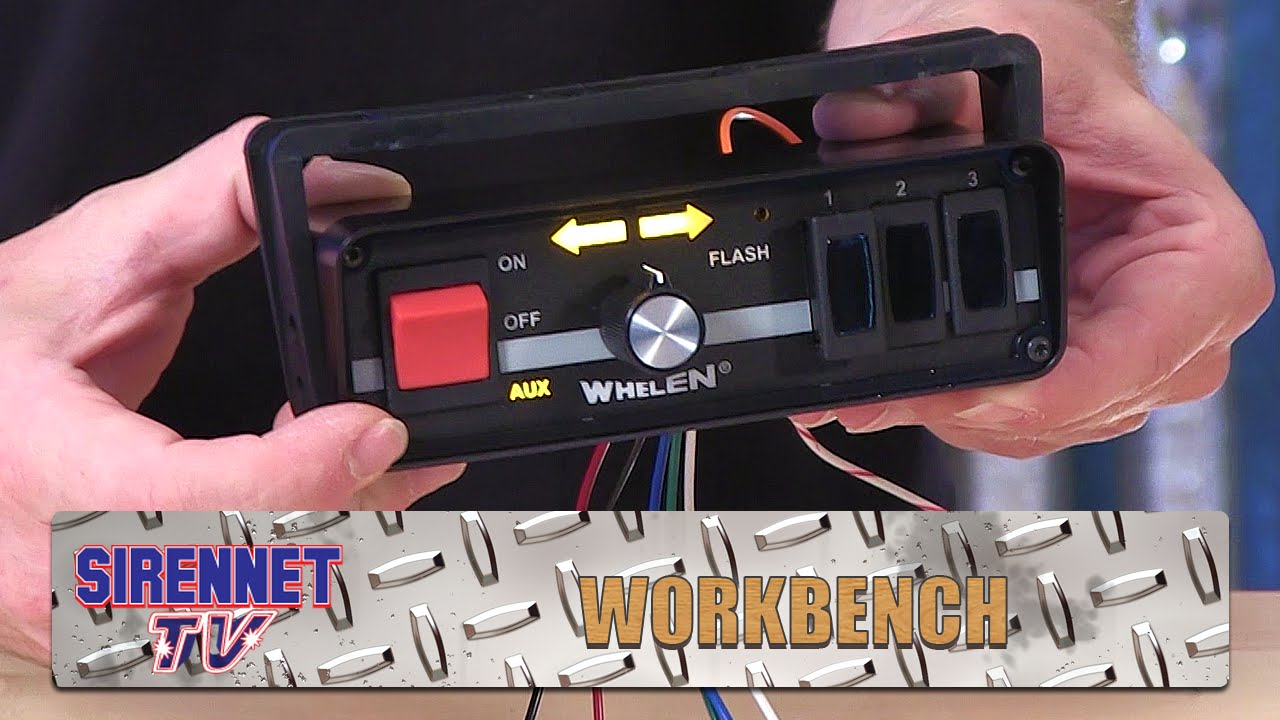 Whelen Tad Series Led Traffic Advisor Control Head Youtube Tir3 Wiring Diagram