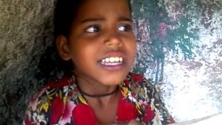Tribal song at Gabbar, Ambaji, Gujarat, India.