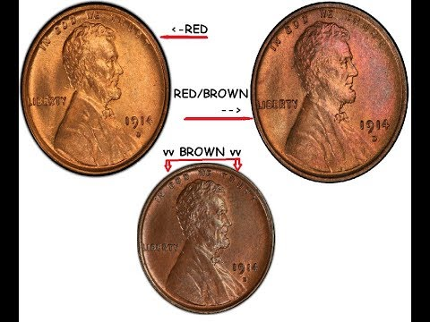 Coin Grading And Finding Value To Your Lincoln Cents!!