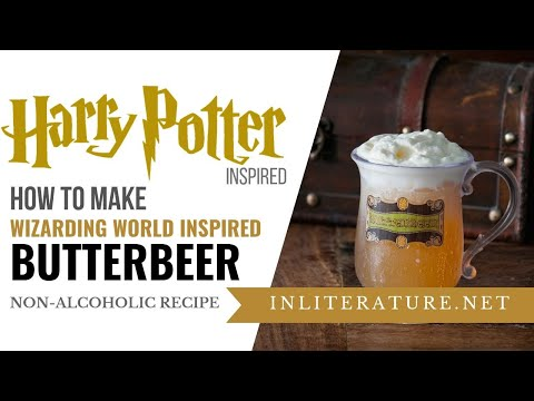 Wizarding World of Harry Potter Inspired Butterbeer | Food in Literature