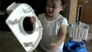 Potty train on 7/2/10