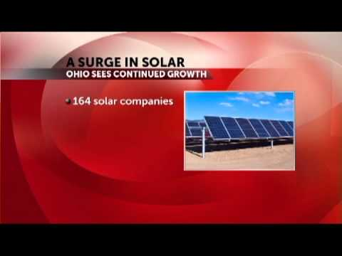 Solar Industry Brightens In Central Ohio
