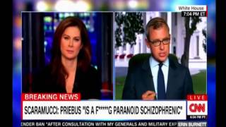 Scaramucci calls Reince Priebus is a f******g paronoid schizopherenic CNN Panel discussion thumbnail