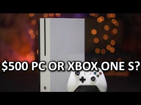 Xbox One S vs $500 PC