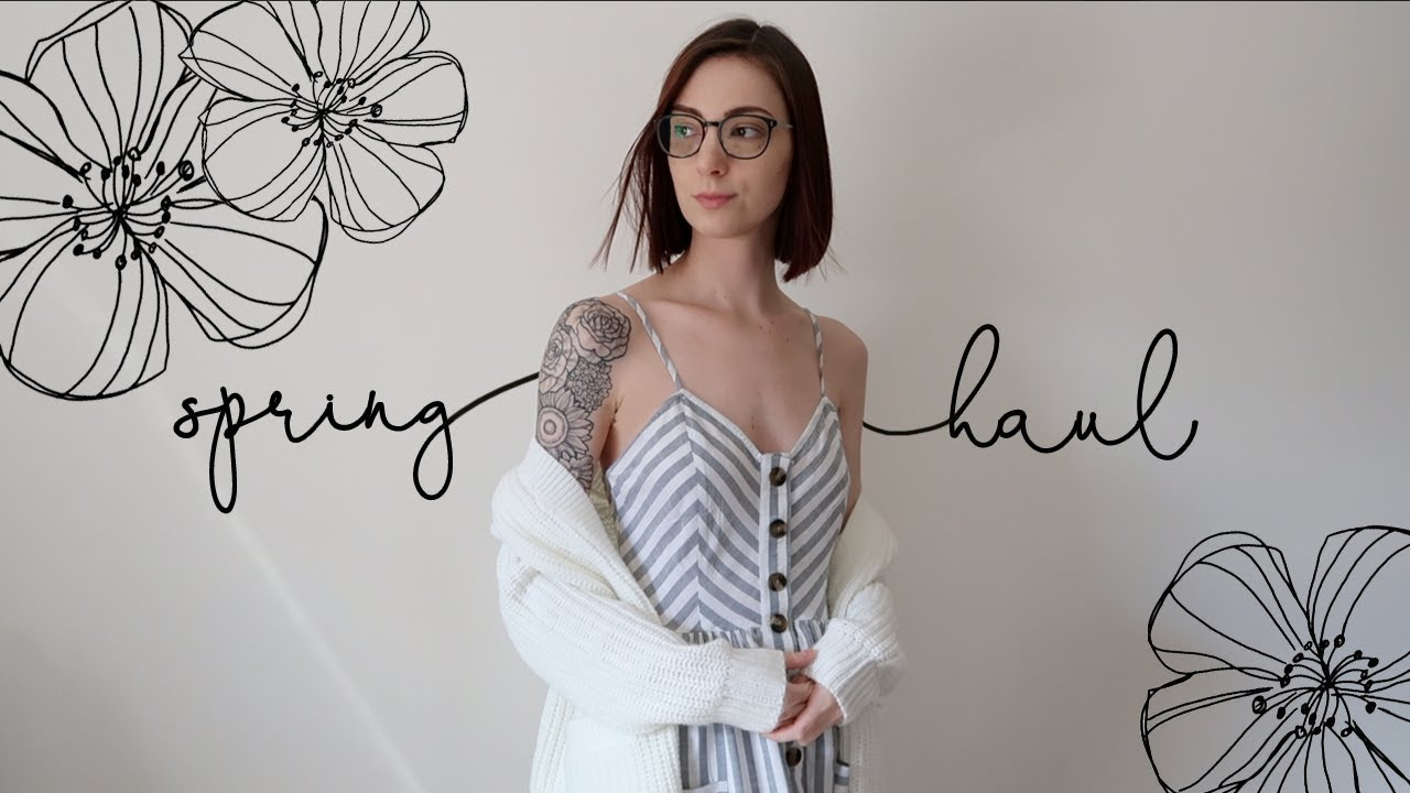 [VIDEO] - Spring Clothing Haul | 2019 2