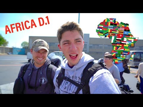 This Might NOT Work -- 9 Days In Africa (DAY 1)