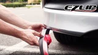 Para Hyundai Elantra 2019 2020 De Fibra De Carbono Front Bumper LIP Spoiler BODY KIT