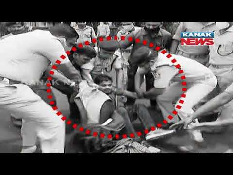 Download High Drama Outside Odisha Assembly: Look How Police Rescued Woman From Youth