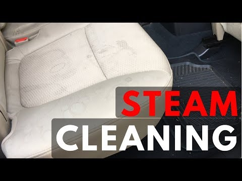 STEAM CLEANING CLOTH SEATS