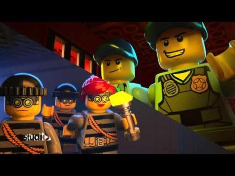Escape from Prison Island - LEGO CITY Studio - Pilot 4