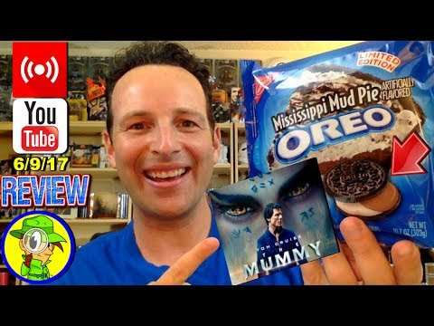 Mississippi Mud Pie Oreo™ & The Mummy 2017 Reviews with Q&A! 🎞️🎙️💬