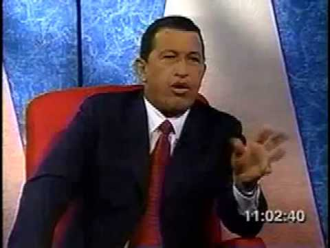 Chavez y Oscar Yanes: TE VAS A CONVERTIR EN EL HOMBRE MAS PODEROSO DE VENEZUELA