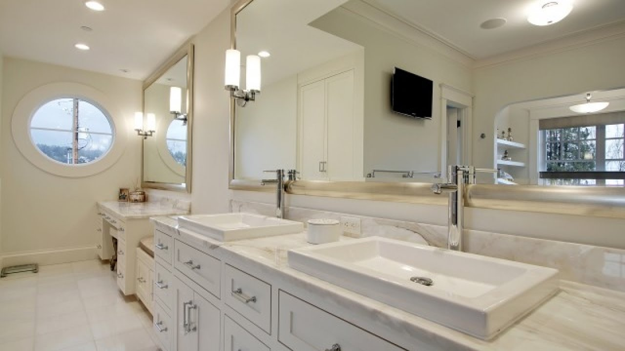 Bathroom The Beauty Of White Framed Mirror