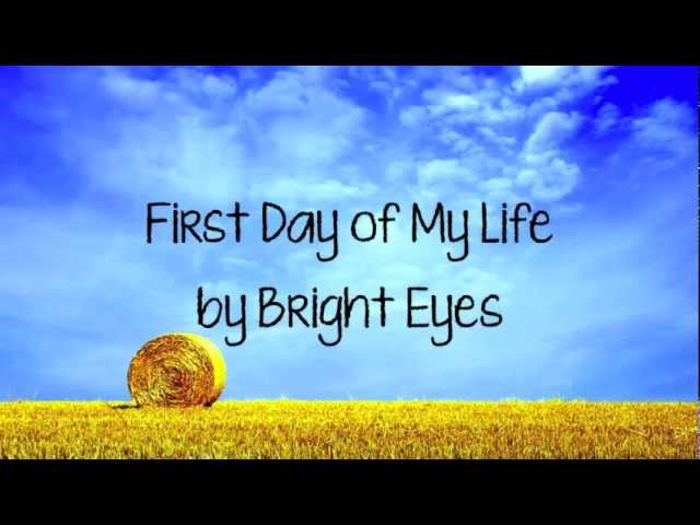 First day of my life | etsy.