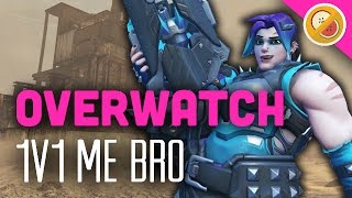 1v1 ME BRO! MYSTERY DUEL! - Overwatch Gameplay (Funny Moments)