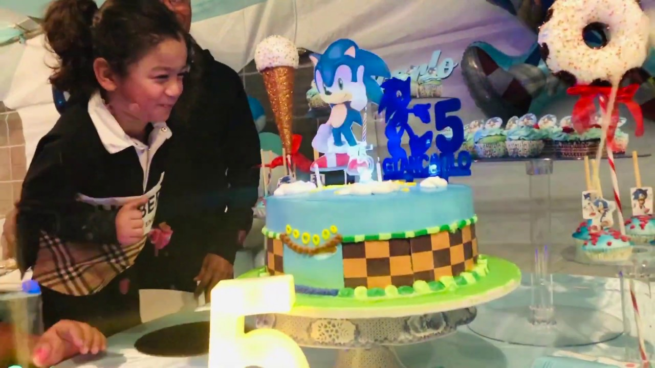 Sonic The Hedgehog Birthday Party Youtube