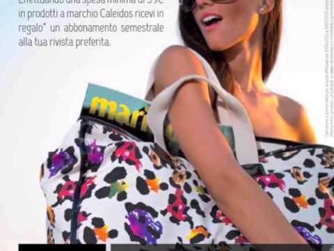 Magazine in regalo con Caleidos Borse