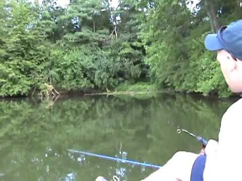 Fishing for Catfish in Central Illinois 2012