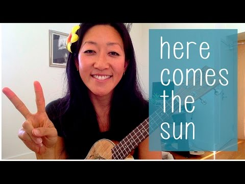 Here Comes the Sun  The Beatles  Ukulele Tutorial