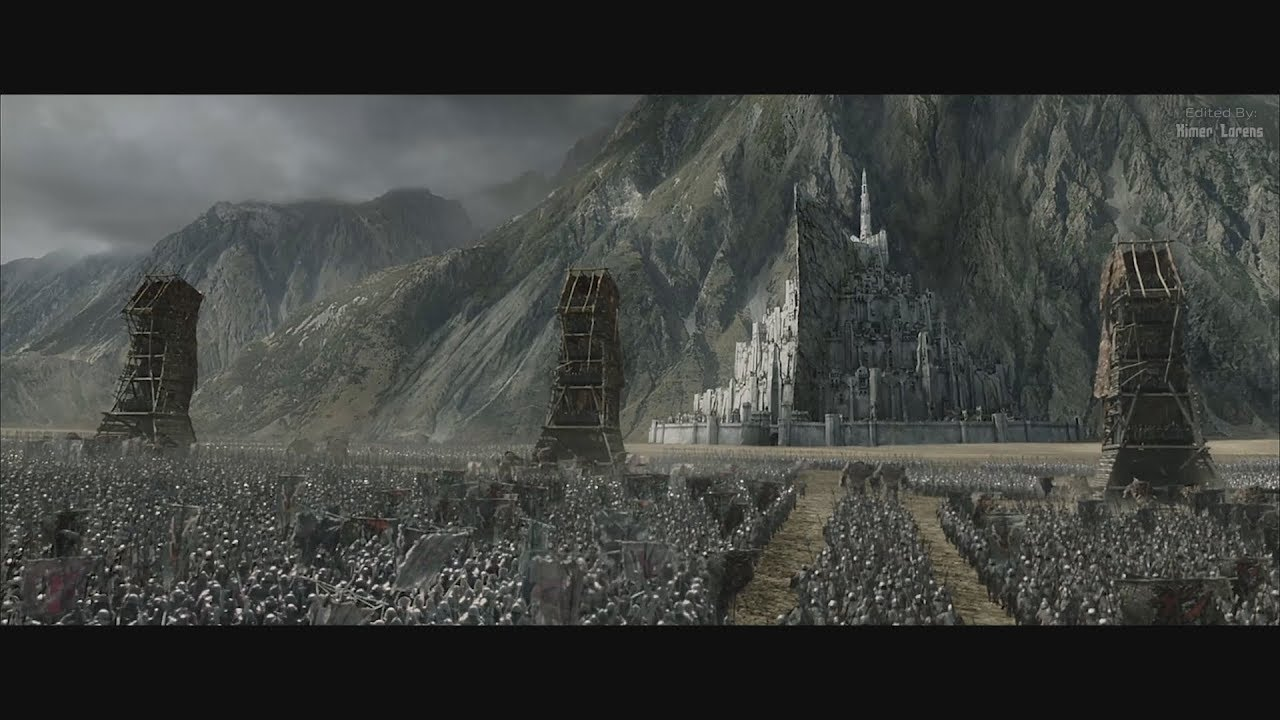 Download The Lord of the Rings (2003) -  Battle for Minas Tirith Beggins - Part 1 [4K]