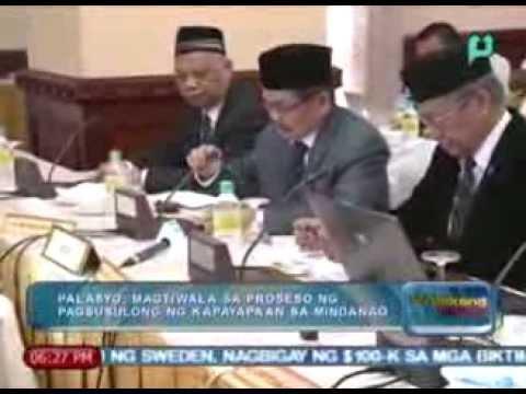 WeekendNews: Normalization annex ng  bangsamoro framework agreement, nilagdaan na