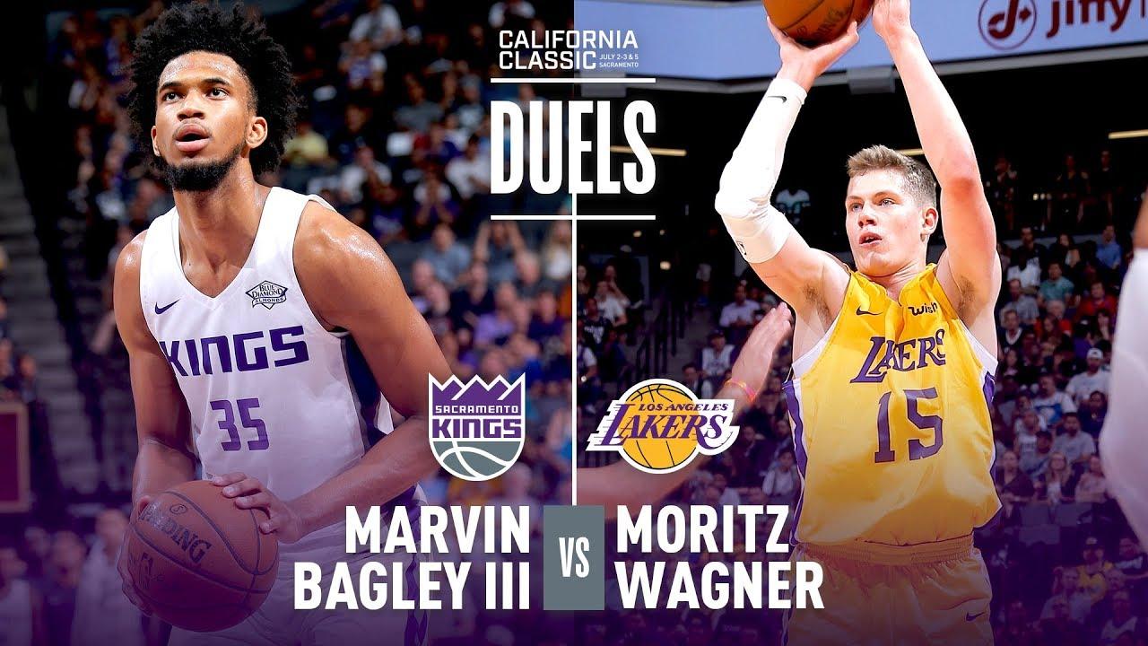 1c2b4621ba8 Marvin Bagley   Moritz Wagner Duel In 2018 NBA Summer League Debut ...