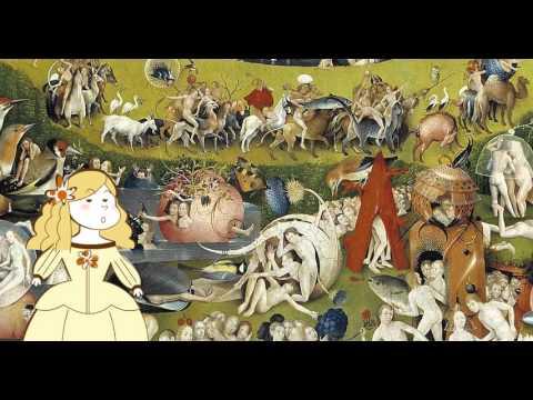 Obra comentada el jard n de las delicias del bosco youtube for El jardin de las delicias significado