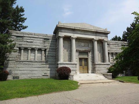 Historical Mausoleum & More (Flint, Michigan)