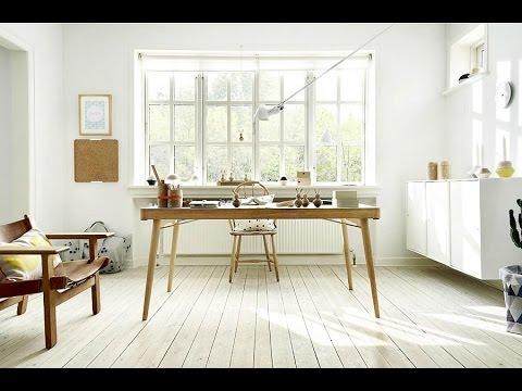 40 Scandinavian Office Interior - Minimalis &  Stylish Design