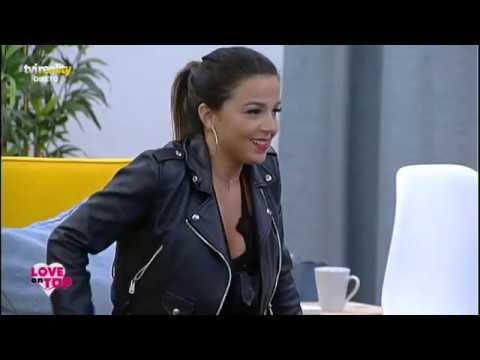 Patrícia, Ana e Pedro Ortet num beijo a três - Love on Top