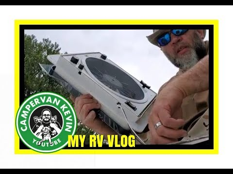 surprised-while-installing-new-fantastic-fan-in-roof-of-rv!