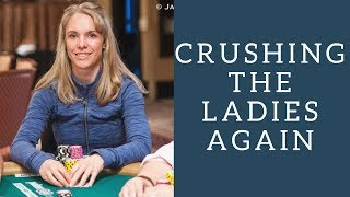 Why is Amanda Baker so Good at the Ladies Event?