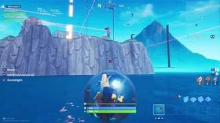 Fortnite Glitch Driving With the Hamster Ball on Water