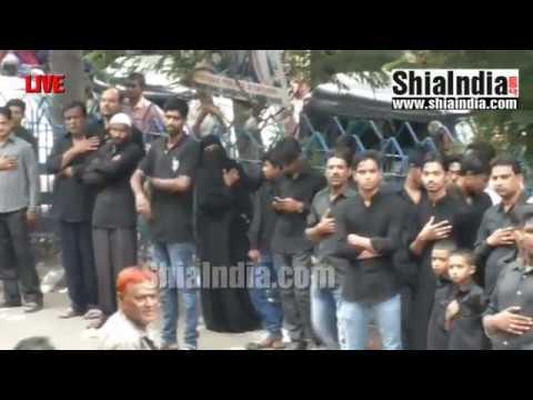(P2) 20th Ramzan Qaumi Matami Juloos Live Footage 1438-2017