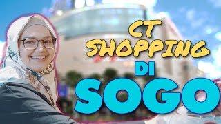 SITI NURHALIZA SHOPPING DI SOGO !!