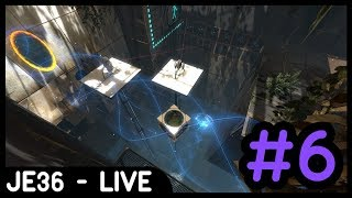 Twitch Livestream Re-upload: Portal 2 Co-Op Mode (w/Liam) | Part 6