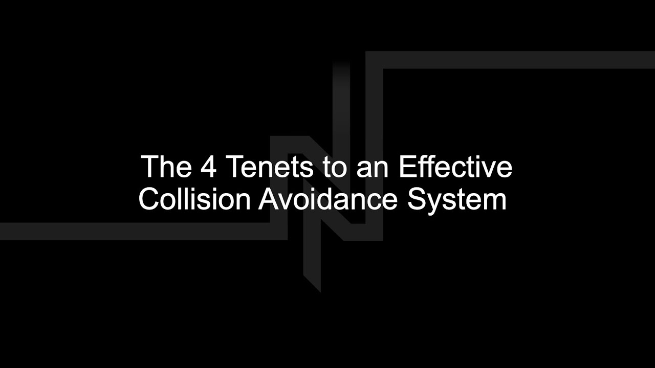 The 4 Tenets to an Effective Collision | Newtrax