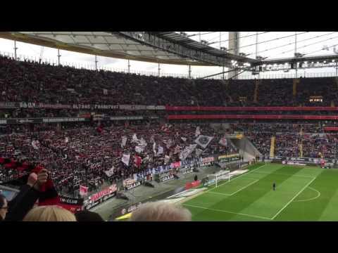 Eintracht Frankfurt Hymne @ Comerz Bank Arena