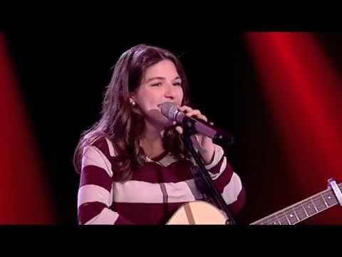 "Catarina Alves - ""Mean"" Taylor Swift - Prova Cega - The Voice Portugal - Season 2"