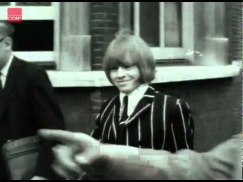 Rolling Stones member, Brian Jones sent for trial on drug charges