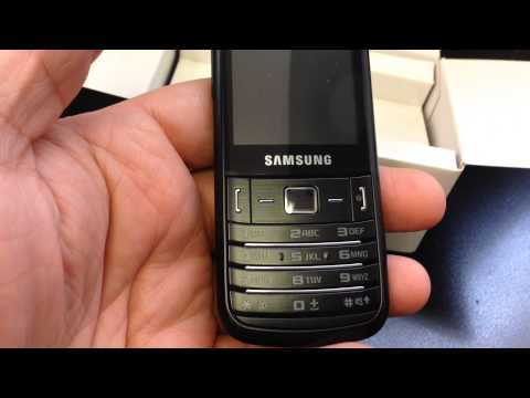 SAMSUNG C3780 Unboxing Video - CELL PHONE in Stock at www.welectronics.com