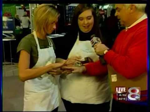 Theraganics - Tulsa Women's Living Expo - February 11, 2011 - Channel 8 News