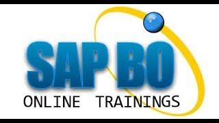 SAP BO Online Training  for beginners
