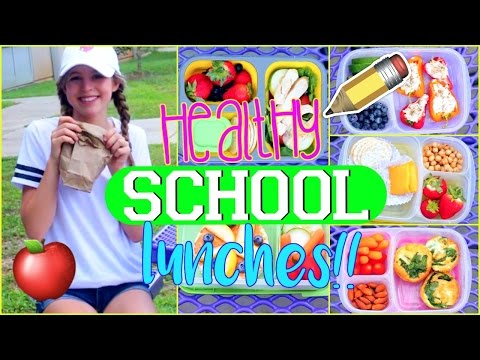 DIY Healthy LUNCHES for Back to School!!