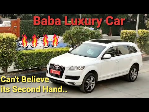 Baba Luxury Car   Prewoned Audi Q7   Must Watch   Detailed Review...!!!