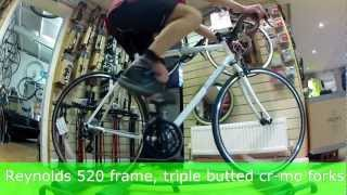 2013 Genesis Equilibrium 00, Cycleops rollers at Speeds Cycles