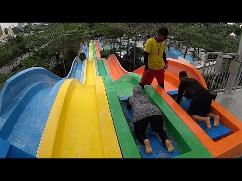 Racing Water Slide