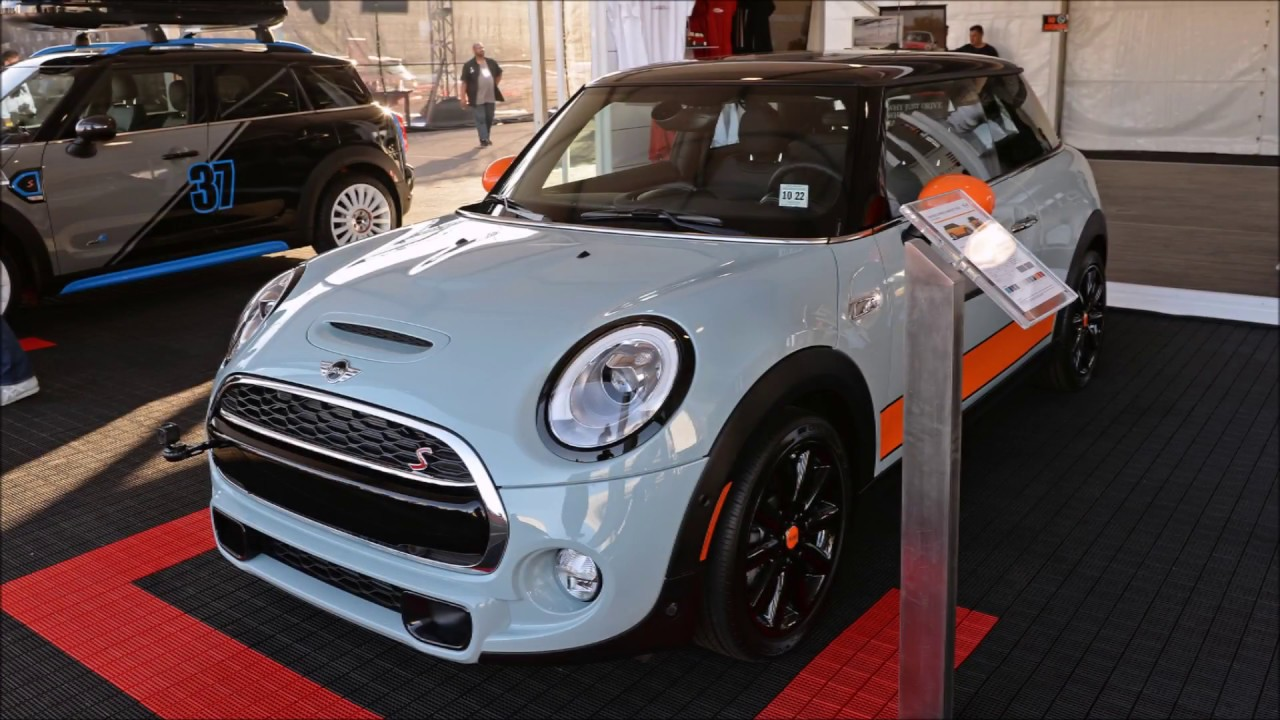 Mini Cooper Ice Blue >> Mini Cooper S Ice Blue Special Edition Sema 2017 Slideshow Youtube